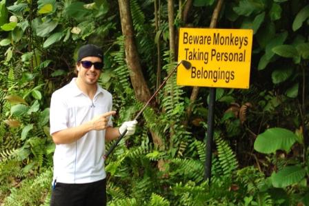 El golf ayuda: Alonso ganó en Malasia