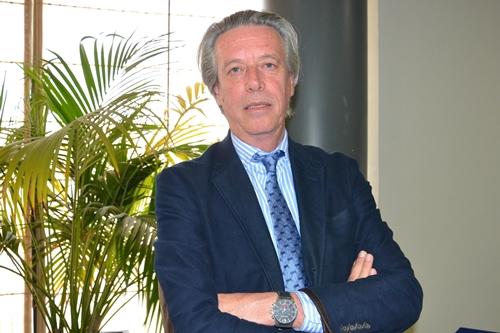 Nacho Guerras, presidente de la Federación de Golf de Madrid. Foto: Fernando Molina
