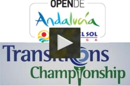 VÍDEO: Los mejores momentos del Open de Andalucía y del Transitions Championship