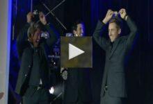 VíDEO: Los jugadores del European Tour se divierten durante la fiesta Ballantine's en Corea