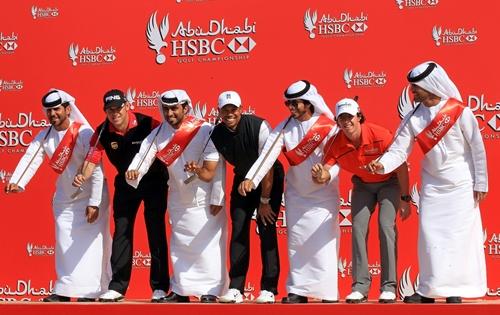 Westwood, Tiger y McIlroy, tres de los cinco golfistas que han liderado el ránking mundial en el último año y medio