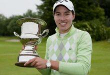 Carlota Ciganda levantó su primer trofeo del Circuito Europeo
