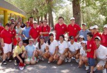 La escuela de golf adaptado de la FGM recibió a la Blume