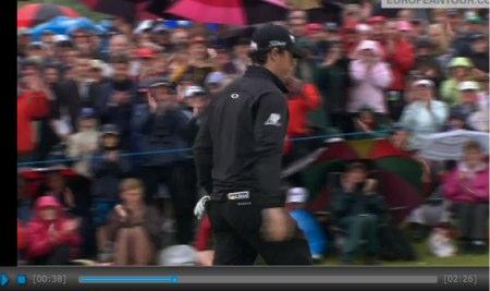VÍDEO: McIlroy, aclamado por una multitud en la 2ª ronda, en Irlanda del Norte