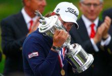 Webb Simpson besó la gloria del US Open
