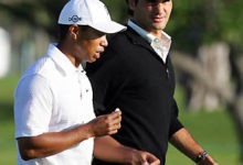 El tenista suizo Federer dice que sin Tiger Woods no hubiese ganado Wimbledon