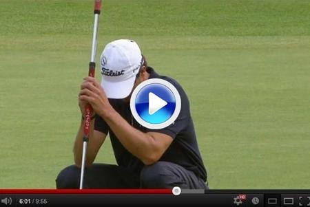 VÍDEO: Scott se suma a Sergio García y Van de Velde en los mayores desastres en el Open
