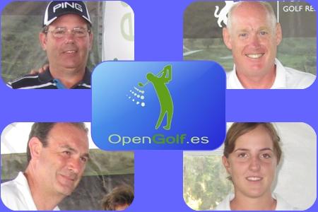 Opengolf, feliz con los rostros de sus campeones