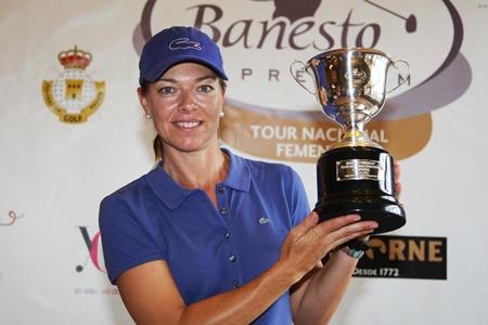 Tercer título para Raquel Carriedo en el Circuito Nacional Femenino