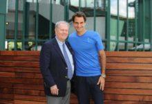 A Jack Nicklaus le pisa los talones el tenista Roger Federer
