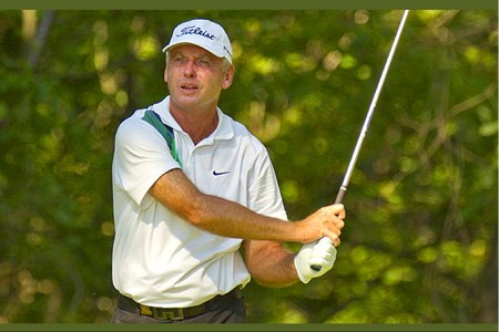 Un 'caddie' del PGA Tour fue líder del US Open Senior