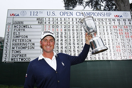 Webb Simpson, padre por 2ª vez y listo para el US PGA