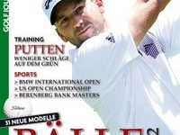 Sergio García, portada de la revista alemana 'Golf Journal'