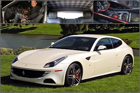 Ian Poulter ya tiene su Ferrari personalizado