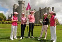 Rosa contra el cáncer de mama en el Open de Irlanda