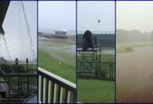 Así llovió en Kiawah Island, ¡y se espera más agua!