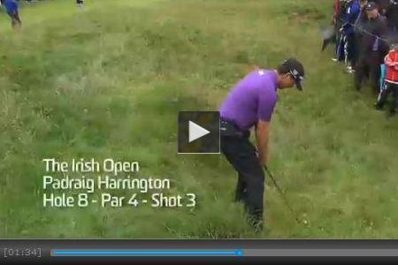 Harrington, mejor golpe del mes de junio (Ver Vídeo)
