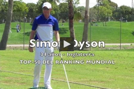 Aprender Mirando: Simon Dyson nos enseña su rutina antes de entrar en el tee del uno