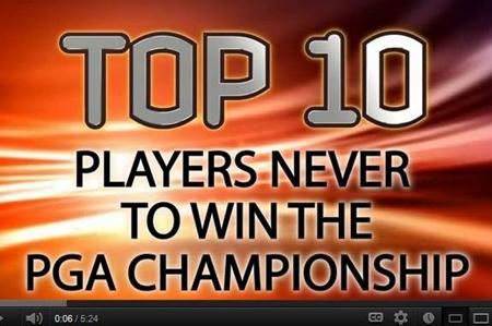 VÍDEO: Top Ten de grandes jugadores que nunca lograron ganar el PGA Championship, entre ellos Seve