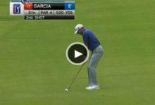 (Vídeo) Birdies de Sergio y golpe del primer día en The Tour para Woods