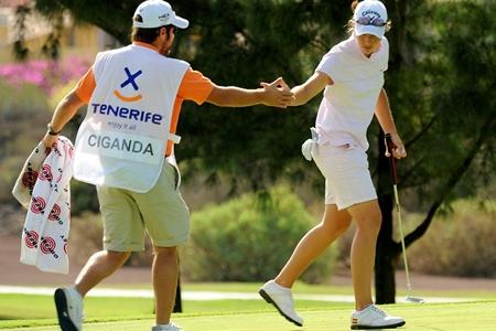 Ciganda, 'top-5' en Tenerife y 2ª de la Orden de Mérito
