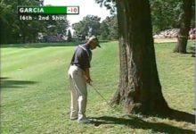 Sergio regresa a 'su' árbol de Medinah (VÍDEO)