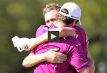 VÍDEO: Los mejores momentos de los fourballs de la segunda jornada de la Ryder Cup