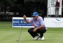 Juan Quirós (73) se desinfló en el Sénior Masters