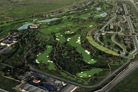La Faisanera Golf, vista aérea