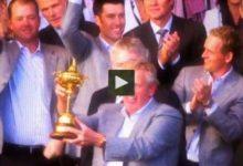 VÍDEO: La victoria de Europa en la Ryder Cup de 2010 para abrir boca