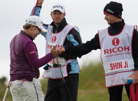 Shin ganó por 9 golpes el maratón del British femenino