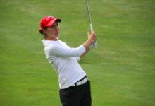 Carlota Ciganda (3ª) avanza en el Open de Francia