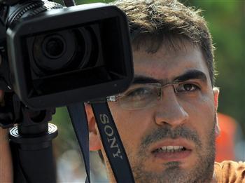 El Pte. de la Federación turca agredió a un cámara TV