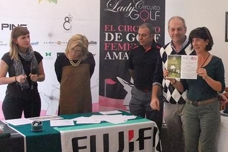 Sergio García acudió a la llamada del Circuito Lady Golf