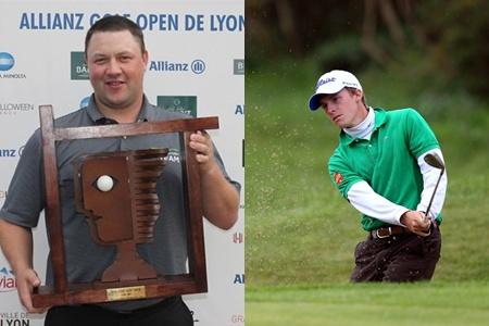 Dos caras felices en Lyon: Hoak (campeón) y GªPinto (3º)