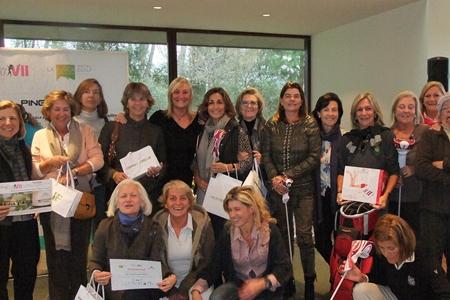 Reunión de joyas en el Circ. Lady Golf celebrado en El Prat