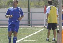 Sergio García jugó al fútbol con el Borriol, que empató en casa