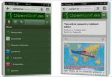 OpenGolf.es, YA EN TU DISPOSITIVO MÓVIL