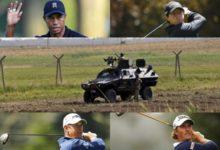 El fuego sirio-turco no interrumpe el golf