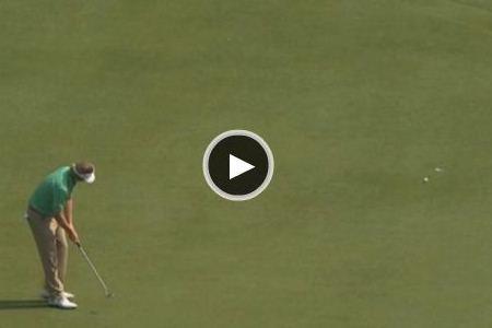 Brandt Snedeker falló un 'putt' de 4,5 mts. para un '59' (VÍDEO)