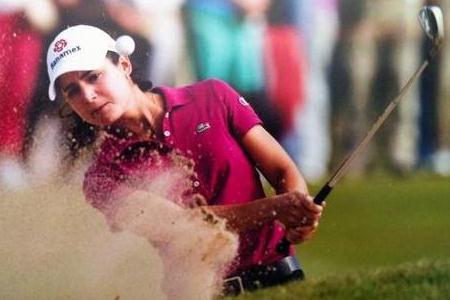 La golfista Lorena Ochoa no descarta llevar su vida al cine