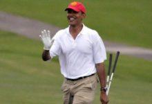 Obama, gran aficionado al golf, reelegido pte. de EE.UU
