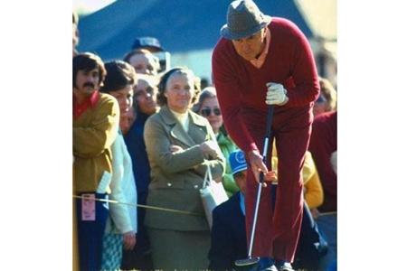 A Sam Snead, en 1968, ya le prohibieron un 'putter' largo