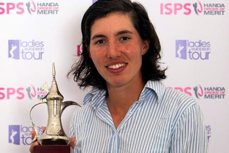 Carlota Ciganda conquistó la triple corona en Dubai