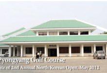 Corea del Norte abre su candado al golf