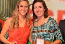 Azahara Muñoz y Carlota Ciganda, estrellas de la Gala del Golf