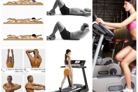 Deberes de GYM: Pierna, abdominales, flexibilidad