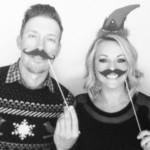 Hunter Mahan y su esposa, Kandi felicitaron la Navidad de esta forma