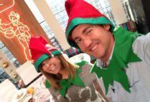 Ian Poulter felicita la Navidad vestido de 'Elfo'