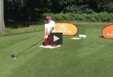 """Geoff Swain, campeón del mundo de """"Trick Shot"""" (golpes de fantasía) vs Ian Poulter (Vídeo)"""